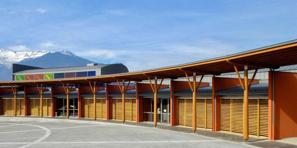 Les projets professionnels - bâtiments bois