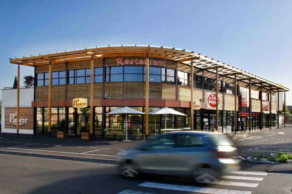 Centre du Léman, Douvaine, Haute Savoie - passage