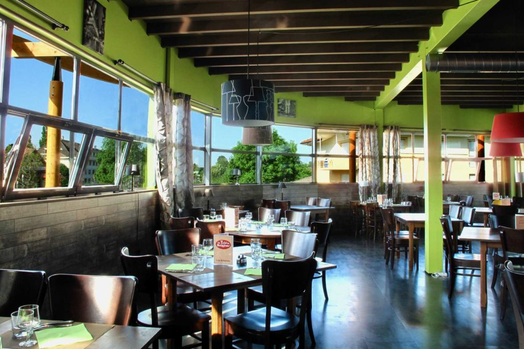Centre du Léman, Douvaine, Haute Savoie - restaurant design