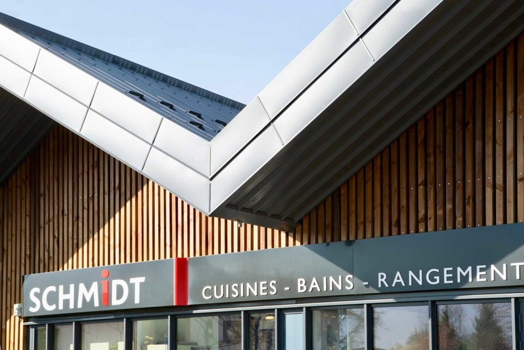 Cuisines Schmidt, Albertville en Savoie - avancée de toit