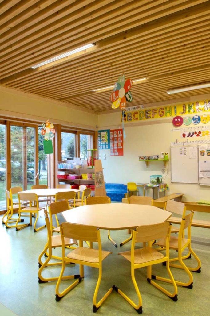 Ecole maternelle d'Aiguebelle - classe