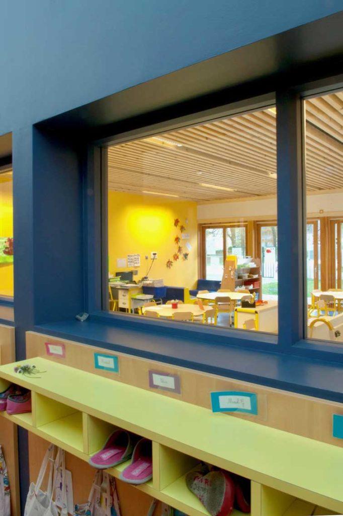 Ecole maternelle d'Aiguebelle - entrée de classe
