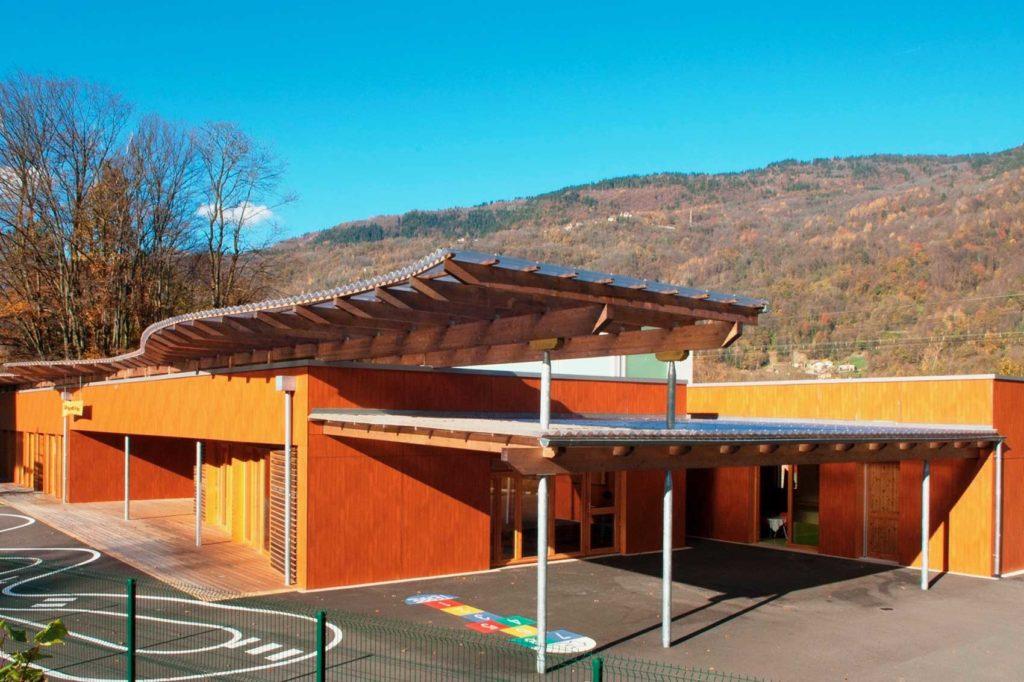 Ecole maternelle d'Aiguebelle - marelle