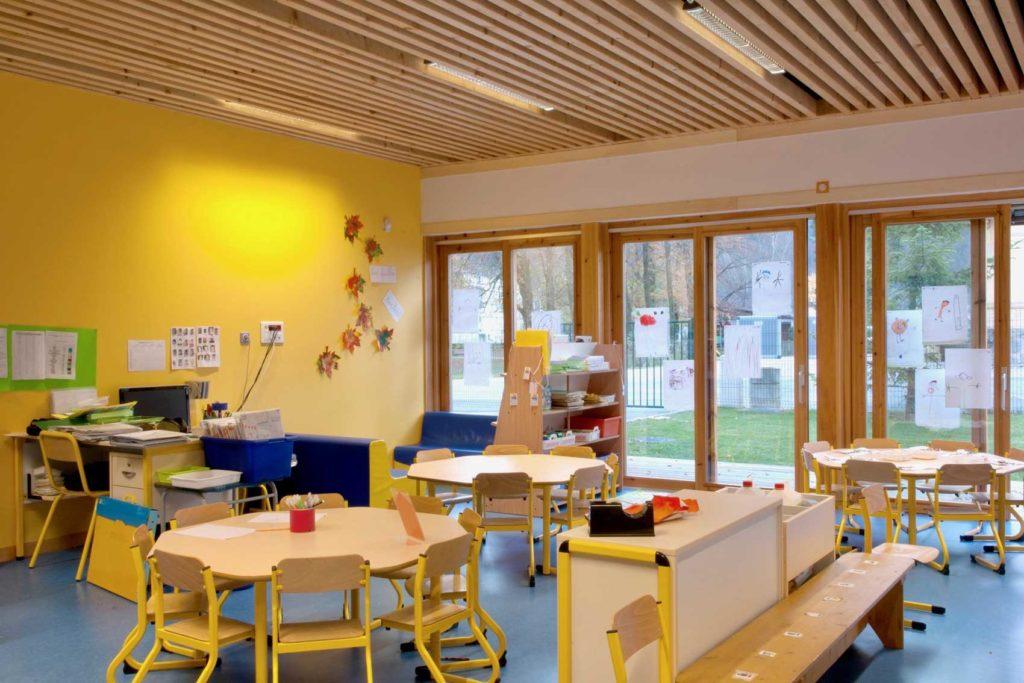 Ecole maternelle d'Aiguebelle - salle de classe
