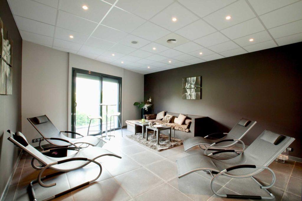 Espace beauté et Kiné Albertville - salle relax