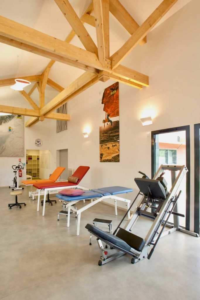 Kinépôle d'Albertville - massage