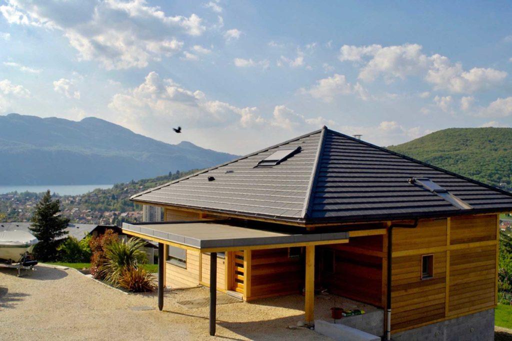 Maison Bois Aix Les Bains - vue