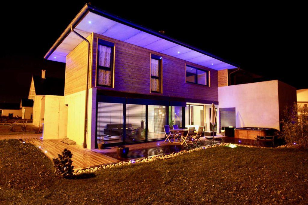 Maison Bois La Ravoire - terrasse