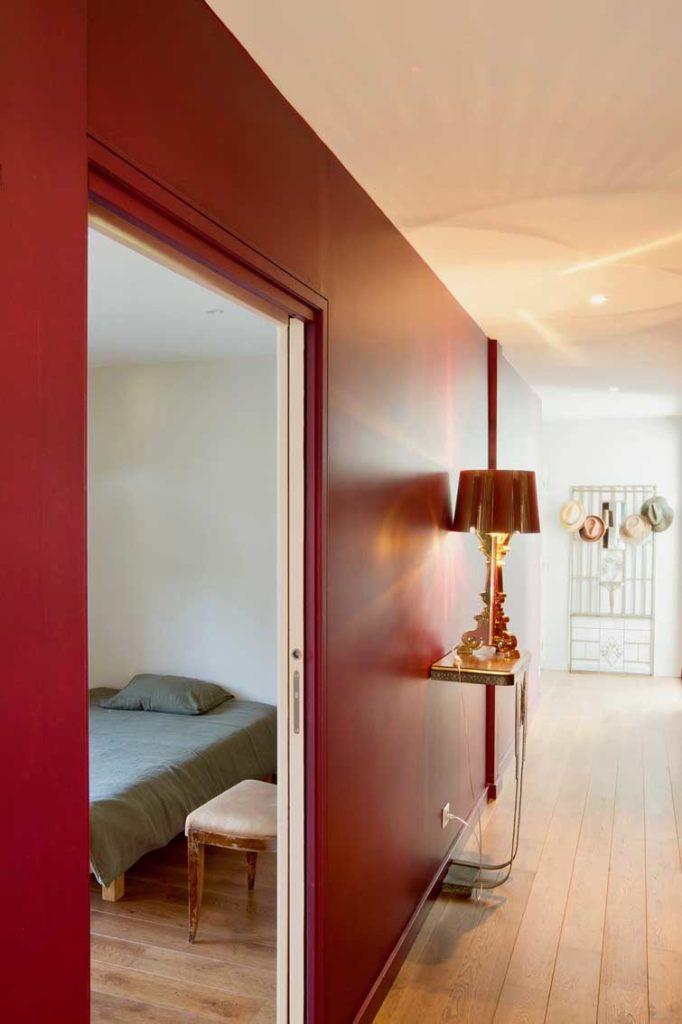 Maison Bois Limonest - couloir chambre