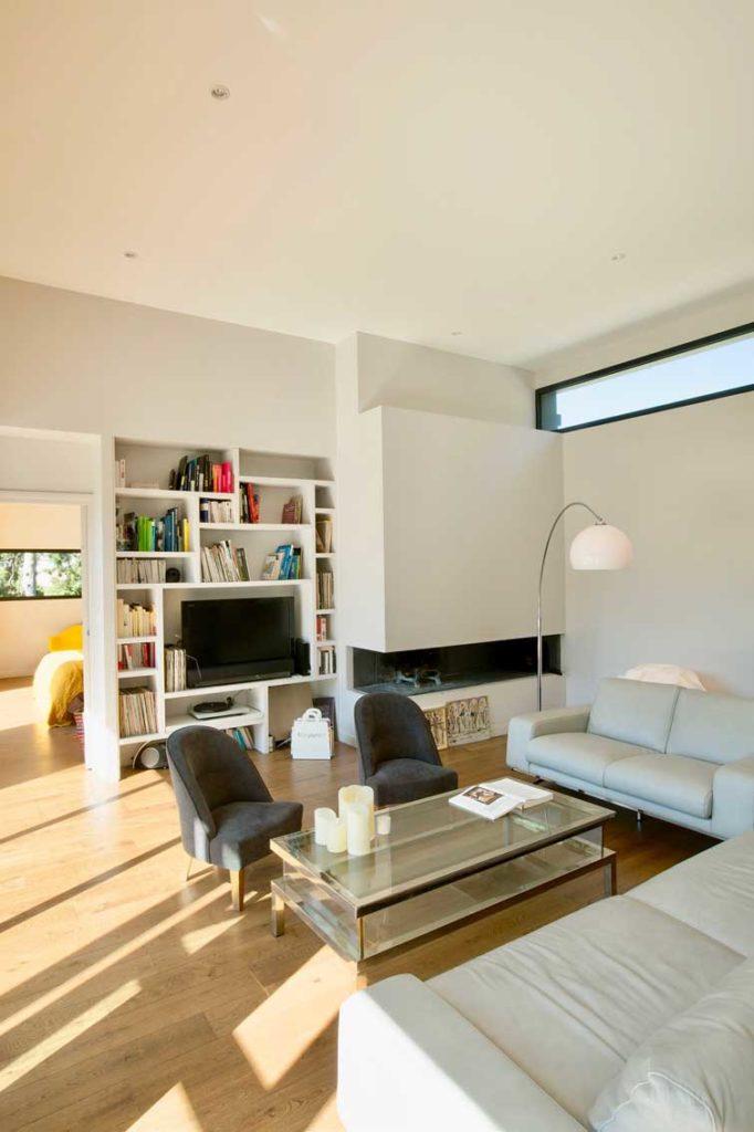 Maison Bois Limonest - salon