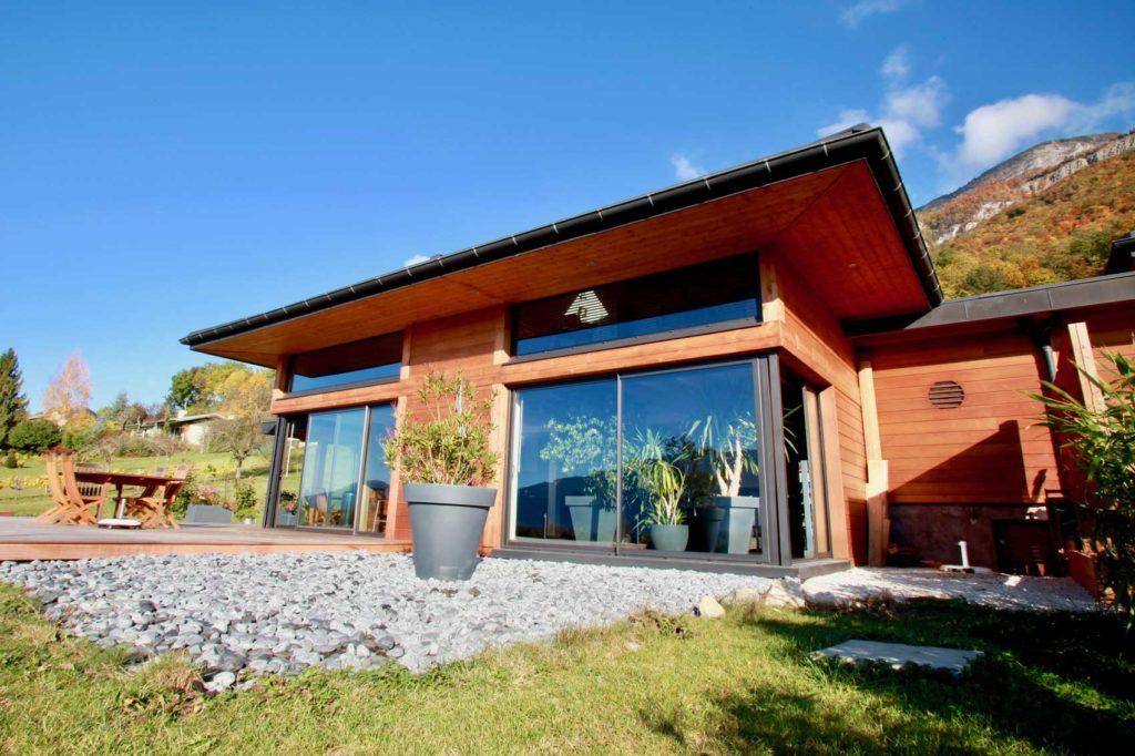 Maison Bois Mery - terrasse