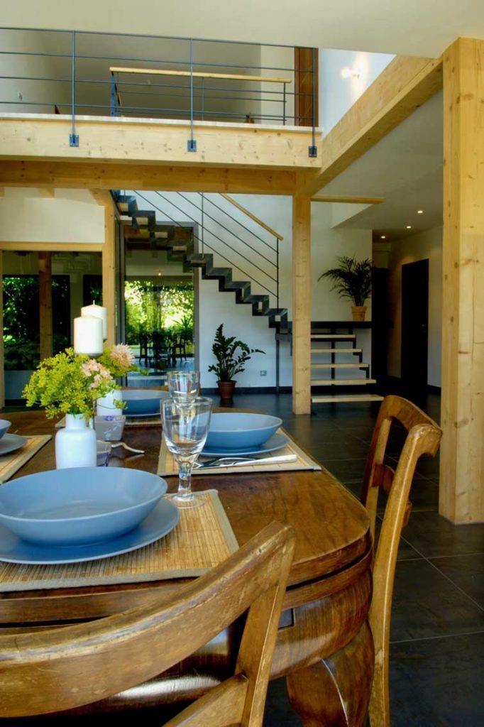 Maison Bois Prevessin Moens - salle à manger