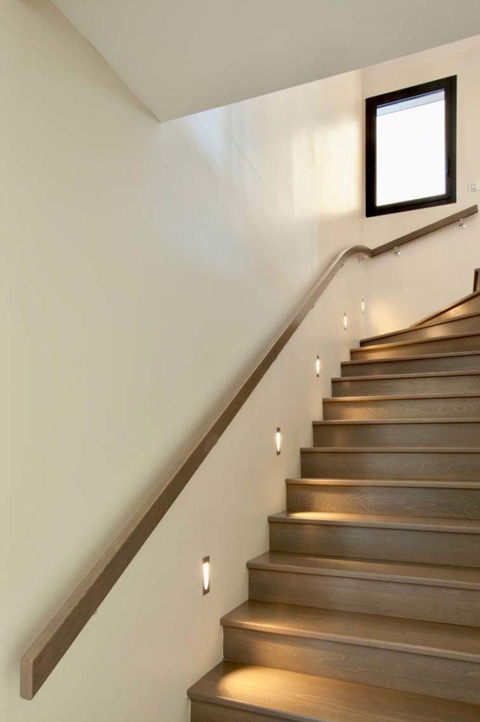Maison Bois St Ismier - escalier