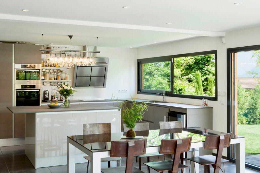Maison Bois Verrens Arvey Savoie - cuisine