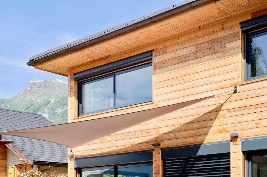 Maison Bois Verrens Arvey Savoie - facade