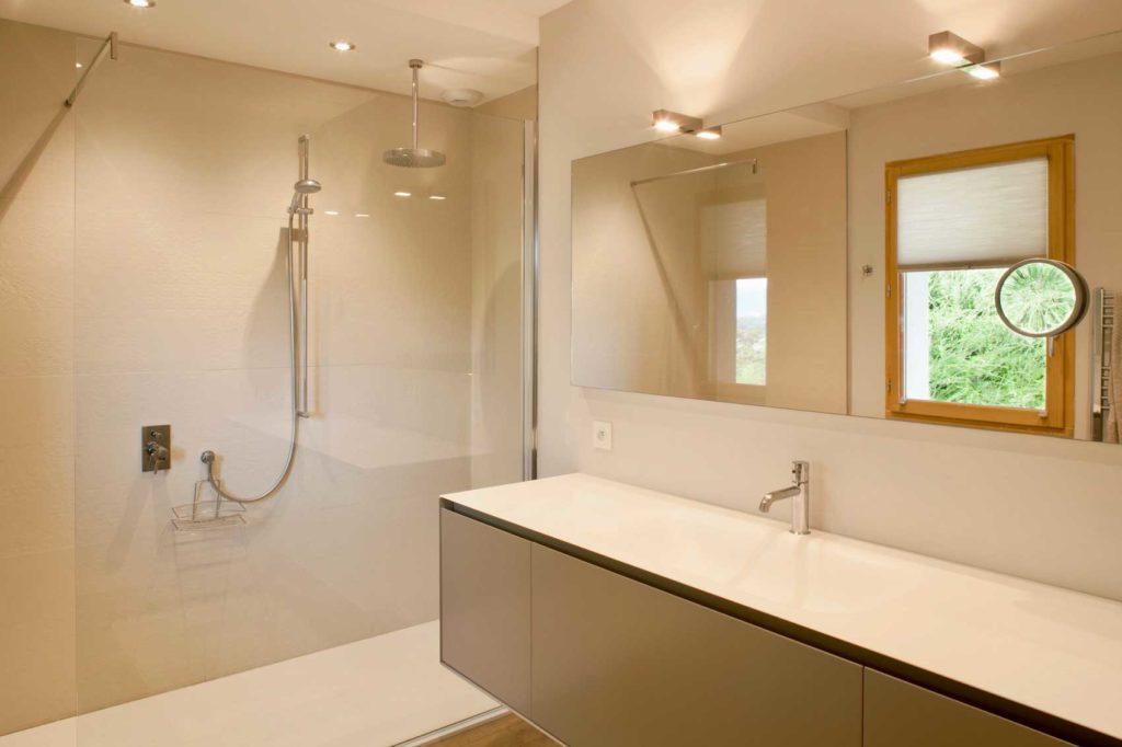 Maison Bois Vetraz Monthoux - salle de bain