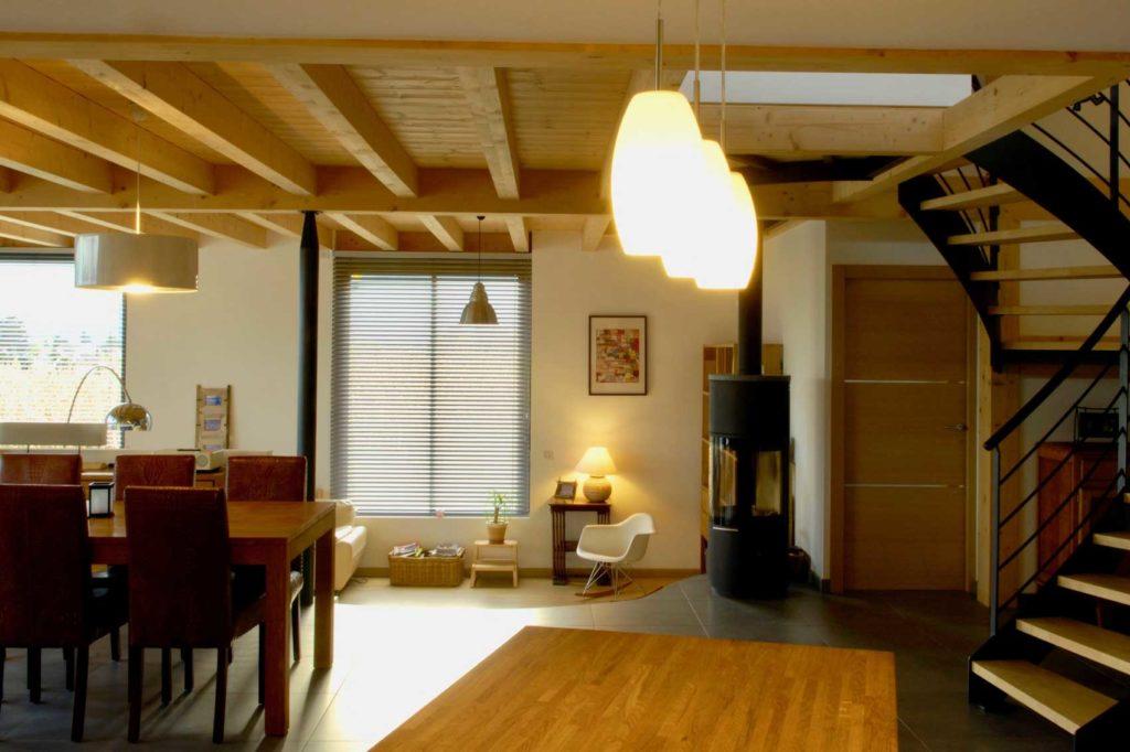 Maison Bois double Vetraz Monthoux - séjour