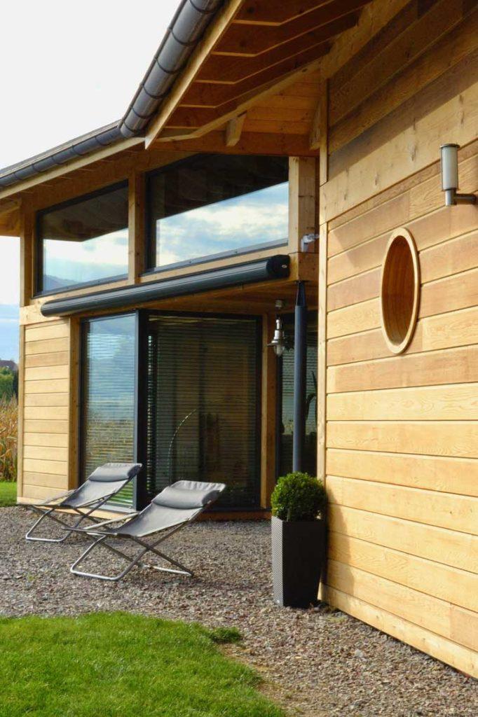 Maison Bois double Vetraz Monthoux - terrasse