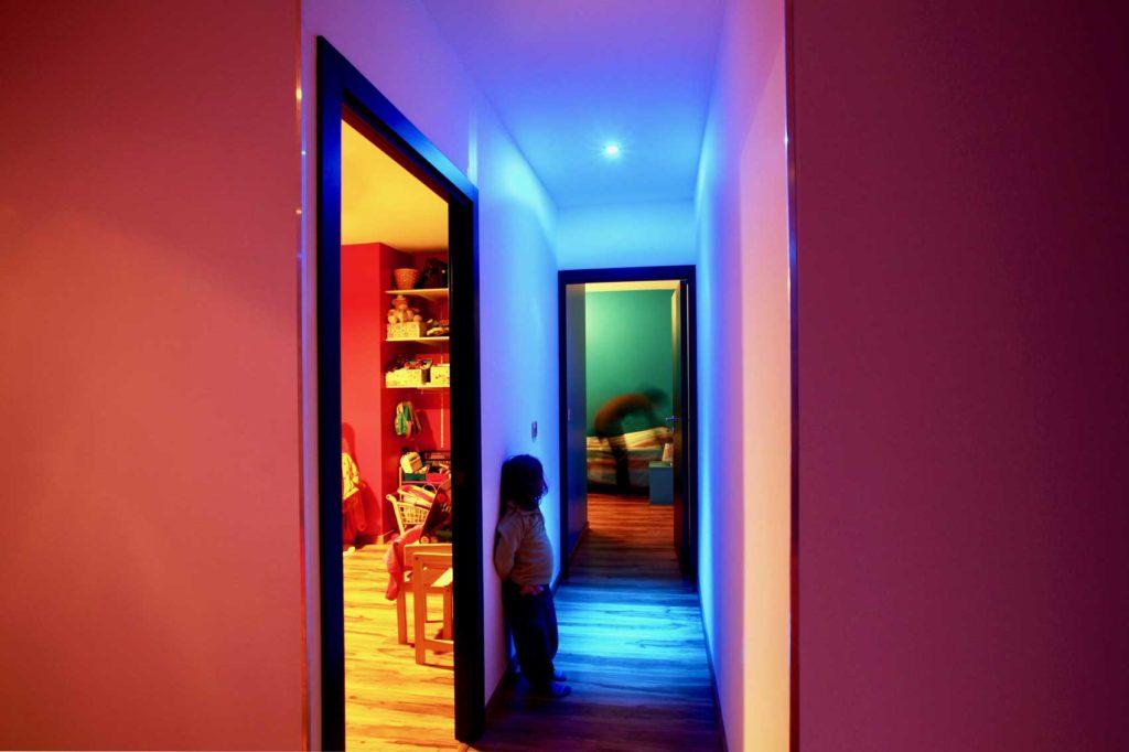 Maison Bois la Ravoire - couloir