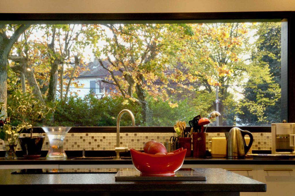 Maison bois Ecully - cuisine