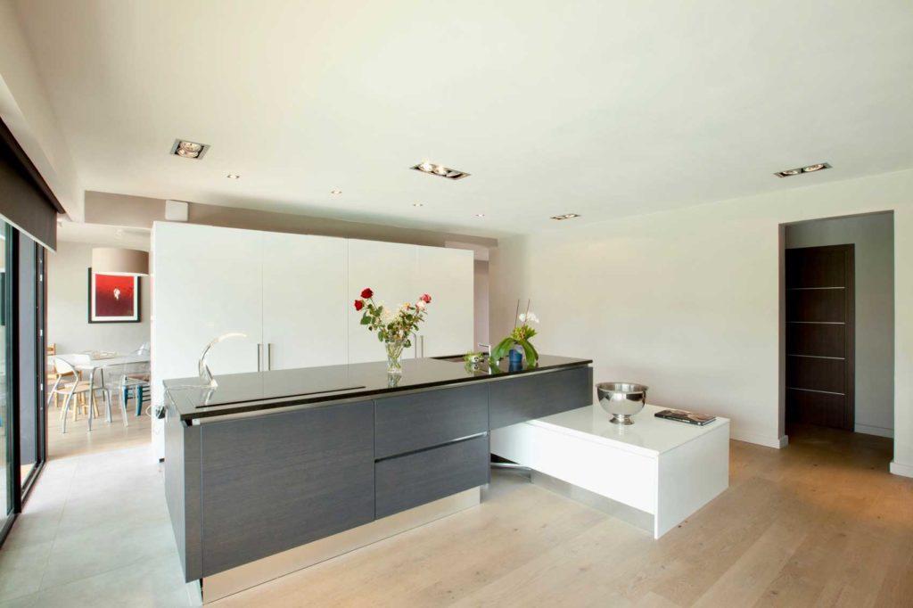 Maison bois La Biolle - cuisine