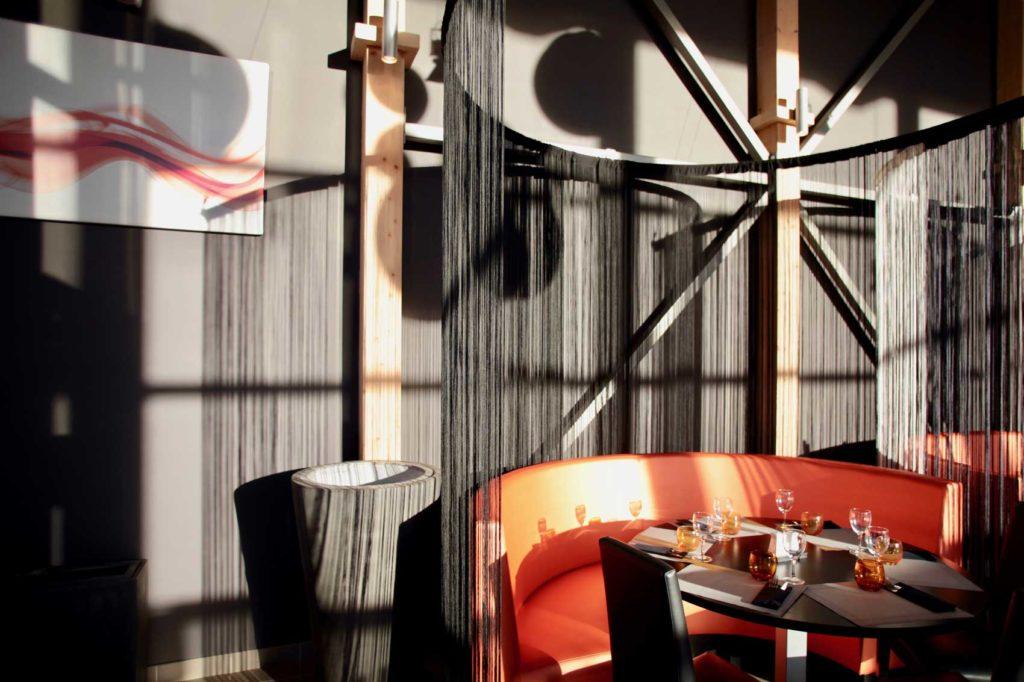 Restaurant l'O2 - Gilly Sur Isère, Savoie - table privée