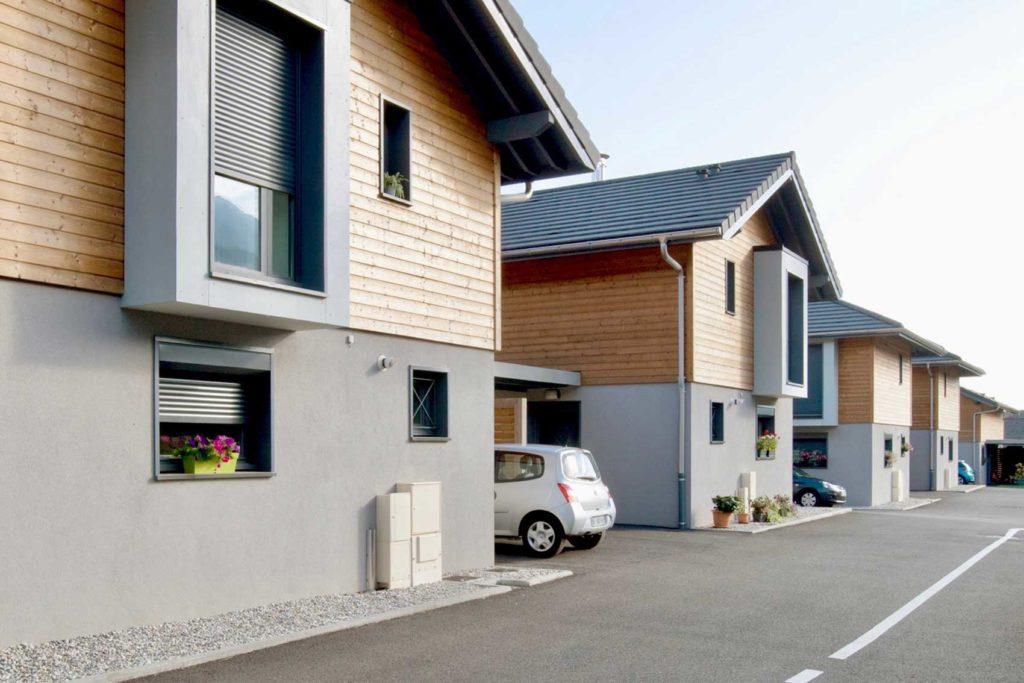Savoisienne Habitat Les Faros - programme maisons individuelles quartier résidentiel