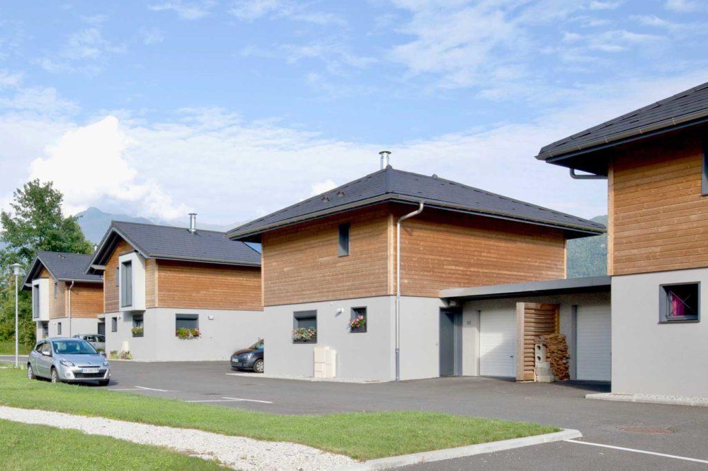 Savoisienne Habitat Les Faros - programme quartier résidentiel