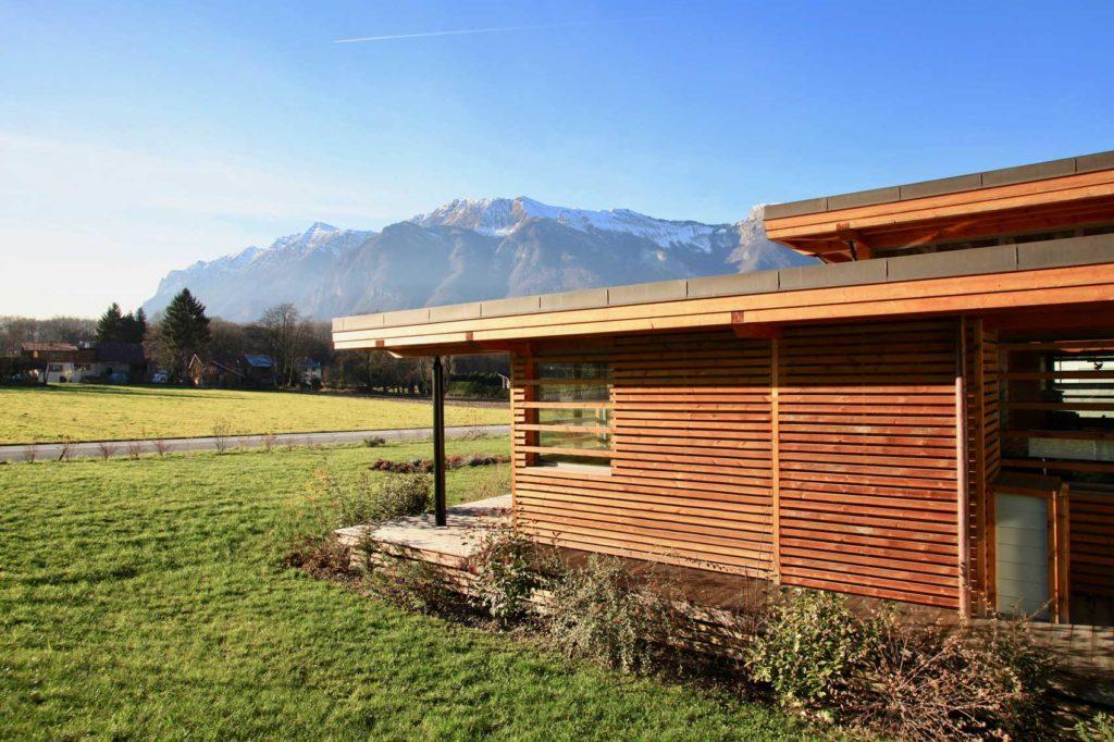 Société AIM, Savoie - facade