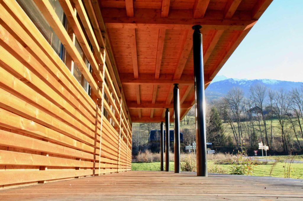 Société AIM, Savoie - parvis