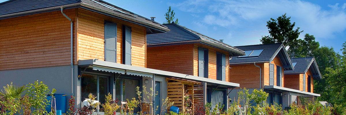 Découvrez le modèle de maison 4 pans construit par Itinéraires Bois