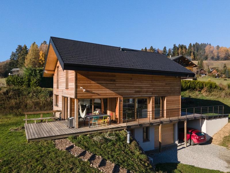 Maison bois Le bourget en Huile -Savoie